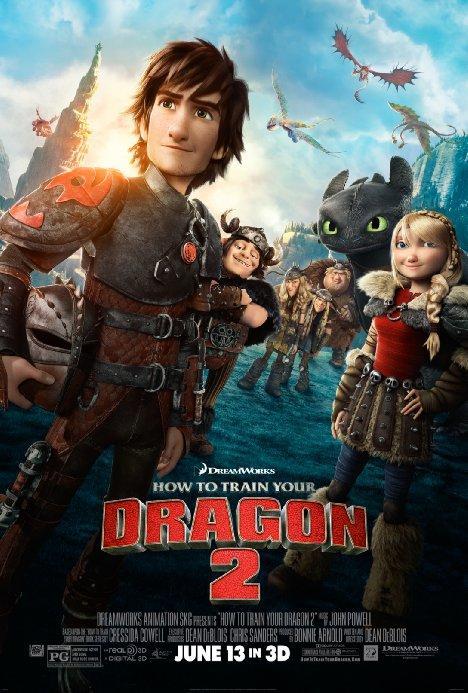 """Как да си дресираш дракон 2"" – ""How to Train Your Dragon 2"""