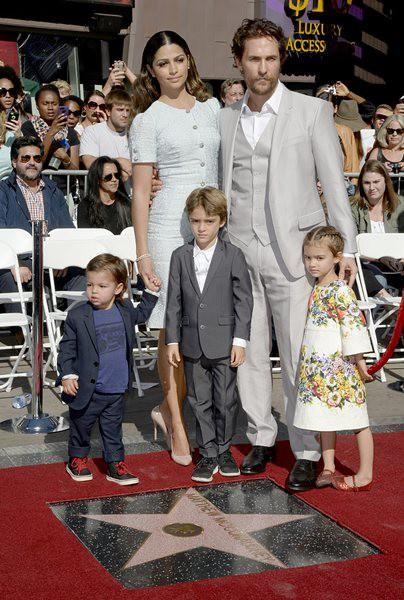 Матю Маконъхи получава звезда на Алеята на славата в Холивуд