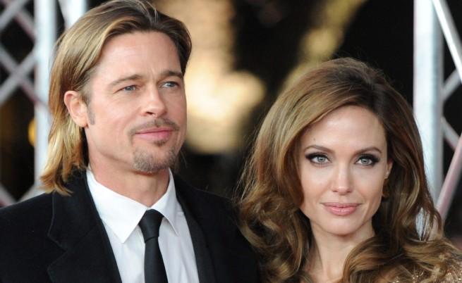 Анджелина Джоли и Брат Пит