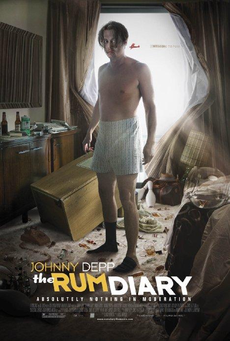 """""""Дневникът на едно пиянде"""" (""""The Rum Diary"""")"""