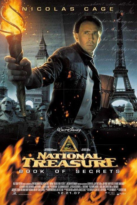 """""""Съкровището две: Книгата на тайните"""" (""""National Treasure: Book of Secrets"""")"""