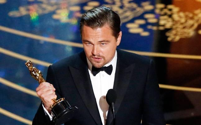 Леонардо Дикаприо Оскар 2016