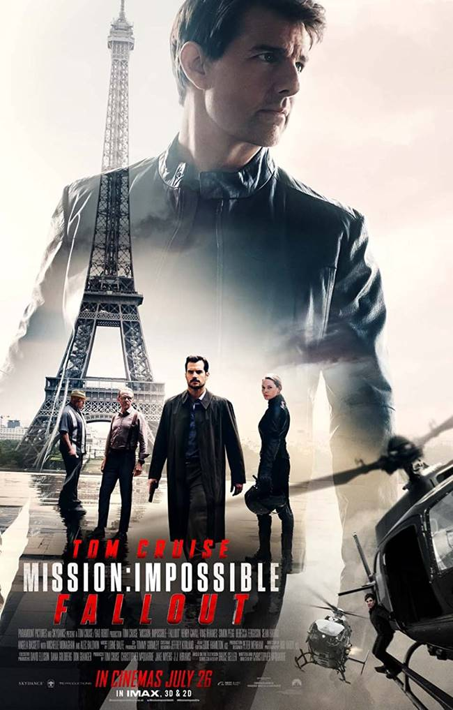 """""""Мисията невъзможна: Разпад"""" (""""Mission: Impossible – Fallout"""")"""