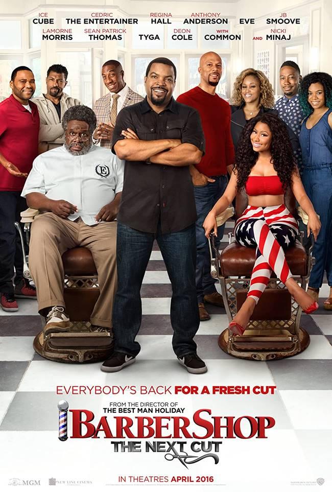 """""""Бръснарницата: Следващо клъцване"""" (""""Barbershop: The Next Cut"""")"""