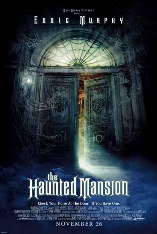 """""""Привидения в замъка"""" (""""The Haunted Mansion"""")"""