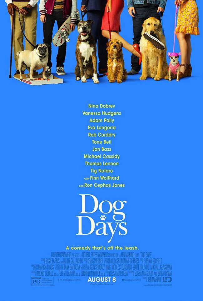 """""""Четириноги приключения"""" (""""Dog Days"""")"""