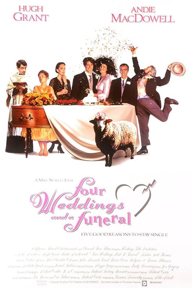 """""""Четири сватби и едно погребение"""" (""""Four Weddings And A Funeral"""")"""