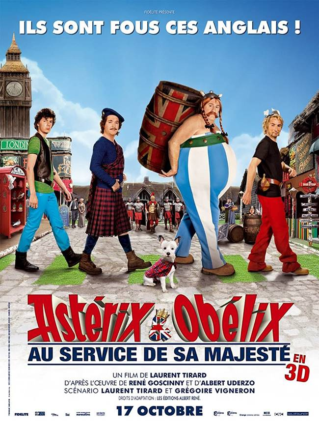 """""""Астерикс и Обеликс: Бог да пази Британия"""" (""""Astérix and Obélix: God Save Britannia"""")"""